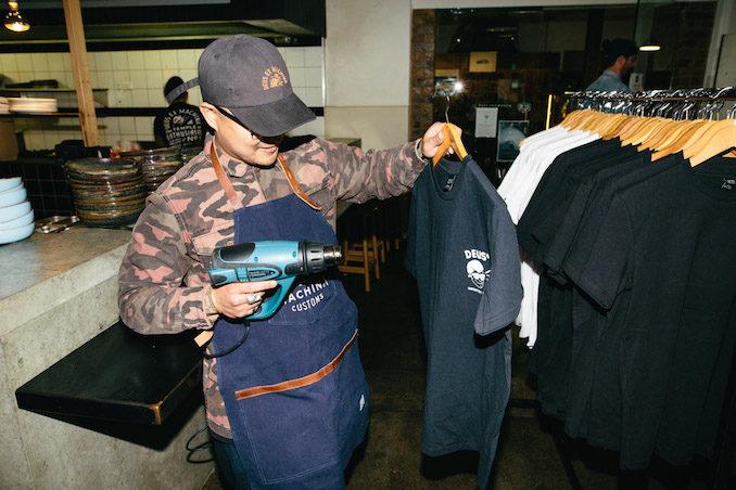 Glue Store Deus Ex Machina Barney Cools bloke lunch Sydney tailor
