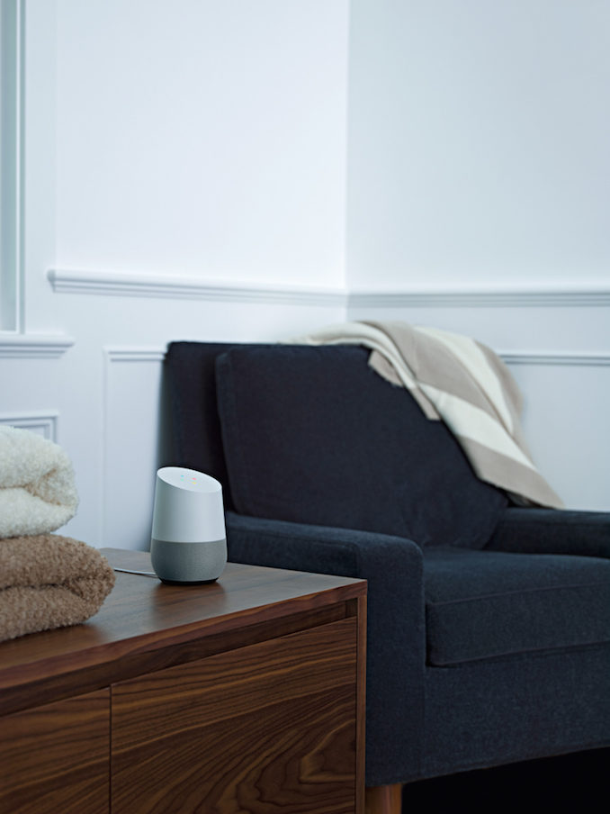 Google Home bedroom