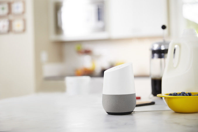 Google home kitchen