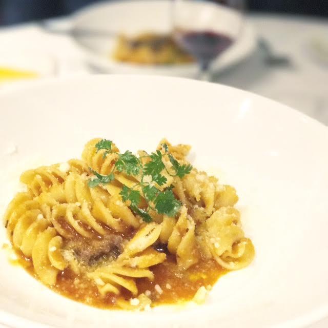 Machiavelli Ristorante Italiano beef spirtal pasta