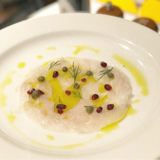 Machiavelli Ristorante Italiano fish carpaccio
