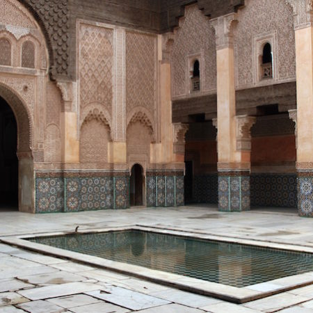 Morocco spa bath