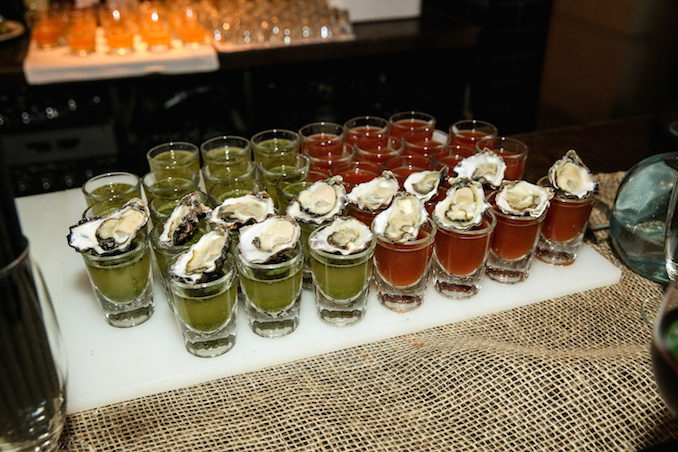 Morrison oyster festival oysters shooters