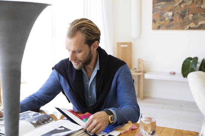 P Johnson suiting MR PORTER designer work