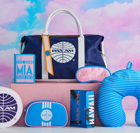 Pan Am Typo stationery bag 1