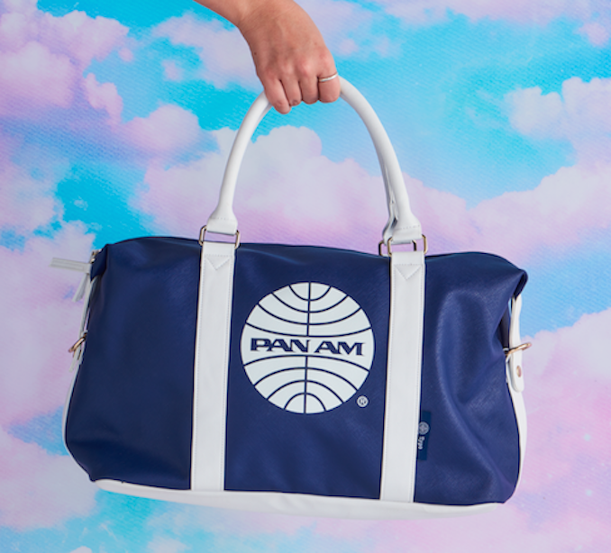 Pan Am Typo stationery bag 2