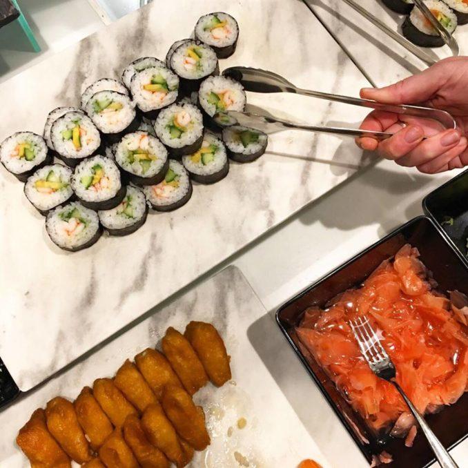 Sheraton Park Hotel Hyde Christmas July Sydney sushi buffet