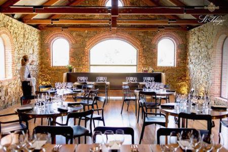 St Hugo winery dining room