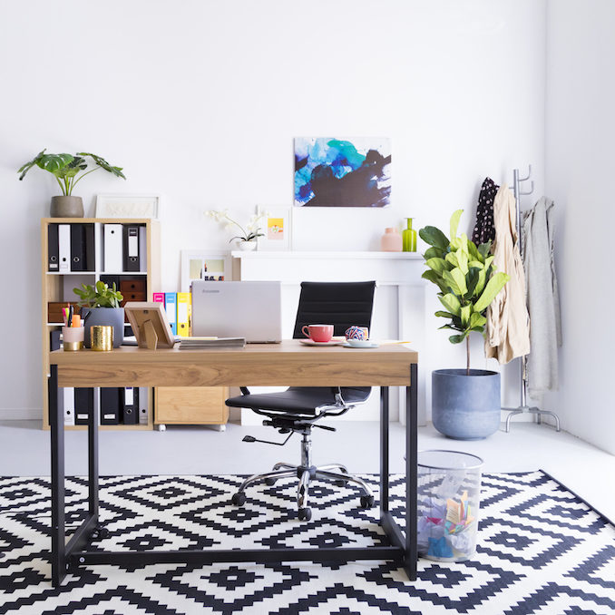 Tips declutter set up work space 1
