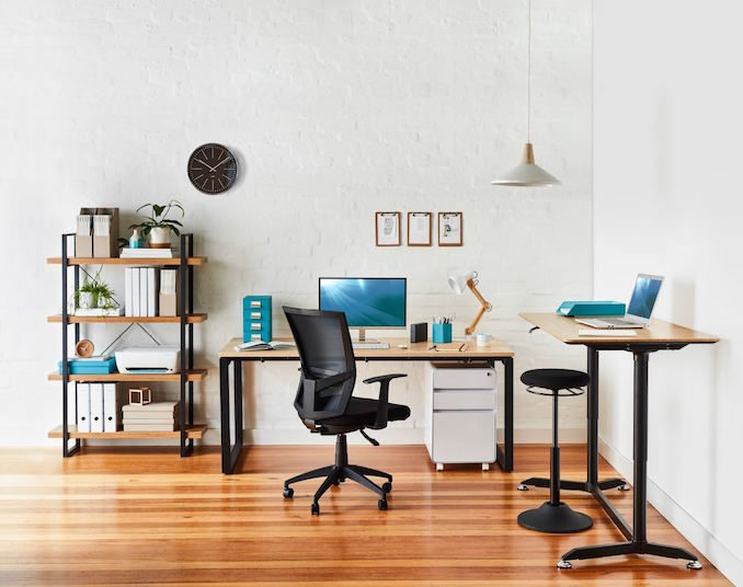 Tips declutter set up work space desk office