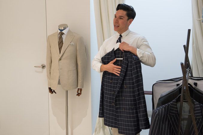 Campari Belance cocktail mens tailoring 5