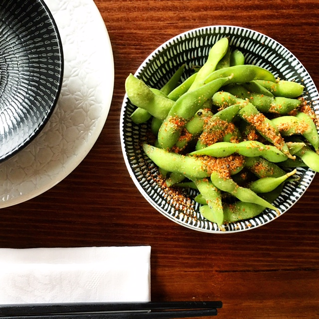 China Diner Bondi Hall Street review edamame