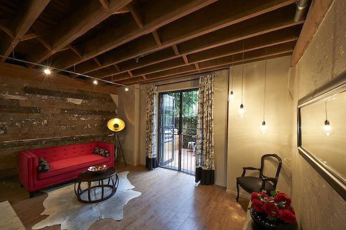 Chippendale studio Interior styling Cherie Barber Reno for Profit