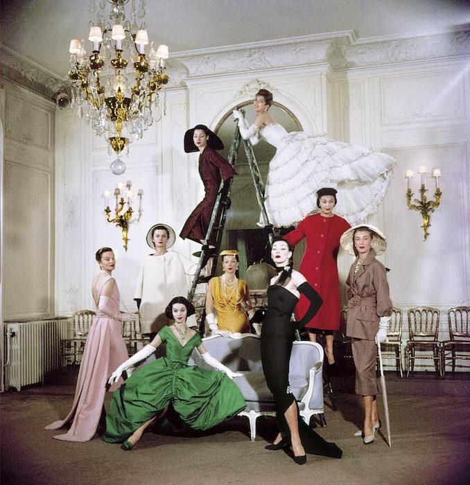 Christian Dior photo shoot