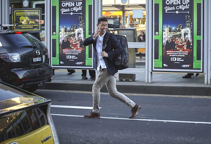 Henty CoPilot bag lifestyle Melbourne