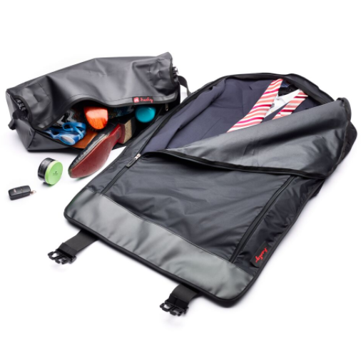 Henty bag CoPilot carrier travel suit shoes