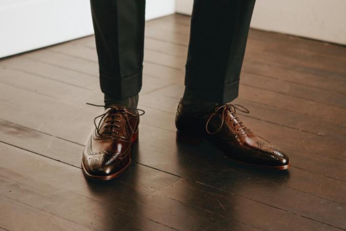 Oscar Hunt Brogue mens shoes
