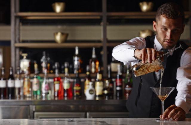 Primus Lobby gin Bar hotel Sydney bartender