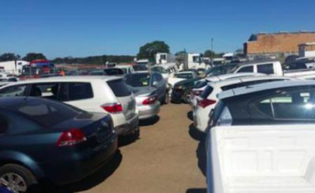 Scrapyard car yard sales