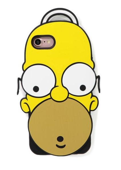 Simpsons phone cover Typo