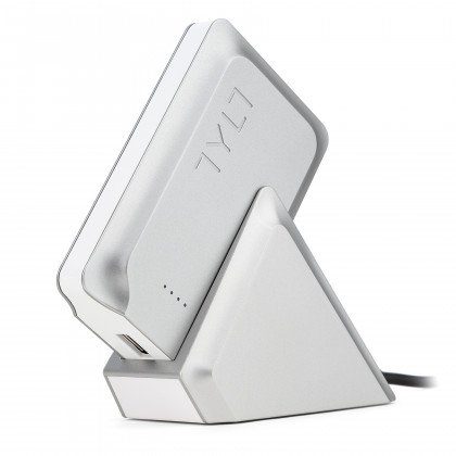 Tylt white charger flipcard