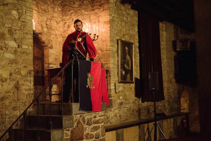 Underground Cinema Royal Court Kingdom Montsalvat castle
