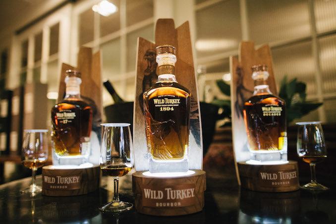 WIld Turkey bourbon Masters Keep 1894 bottles