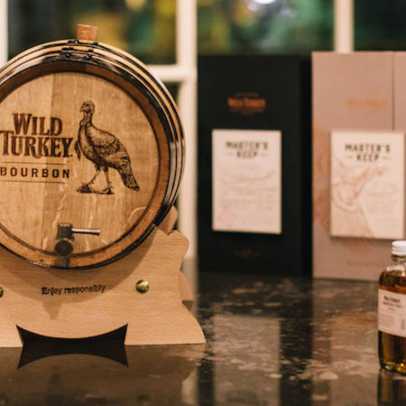WIld Turkey bourbon Masters Keep 1894 logo