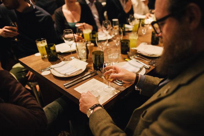 WIld Turkey bourbon Masters Keep 1894 table food meal