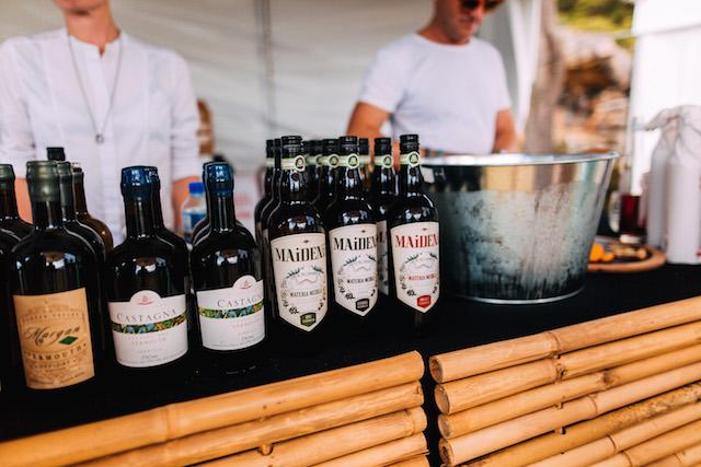 Wine Clark Island Sydney Harbour September spirits