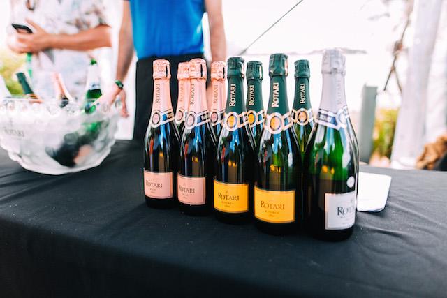 Wine Clark Island Sydney Harbour September wine bottles