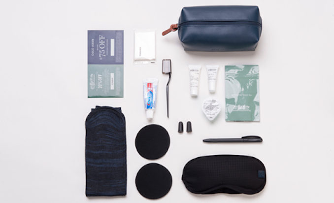 American Airlines Business Class amenities