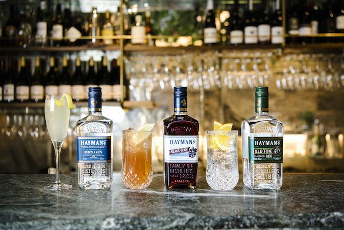 Haymans Gin Supper Club Lord Dudley Hotel Sydney alcohol
