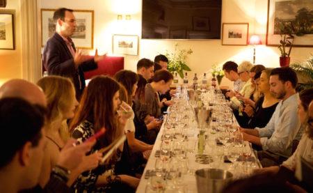 Haymans Gin Supper Club Lord Dudley Hotel Sydney dinner