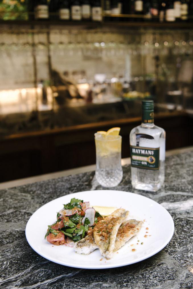 Haymans Gin Supper Club Lord Dudley Hotel Sydney food