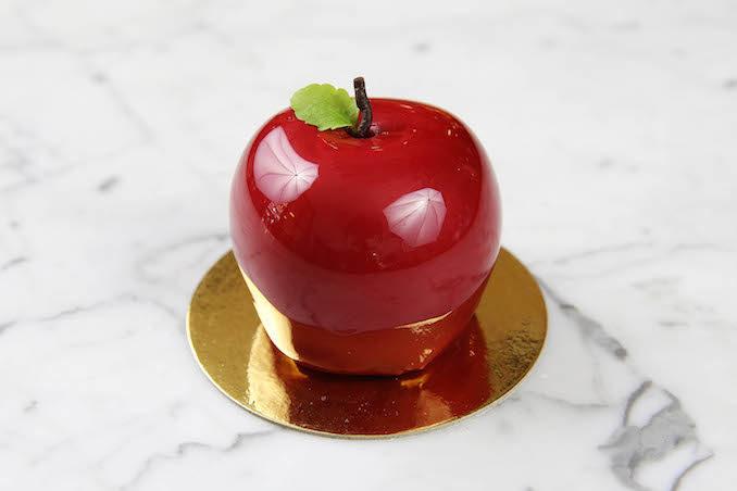 Koi Dessert Bar spring fresh fruits apple cake