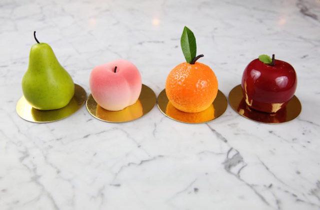 Koi Dessert Bar spring fresh fruits cakes