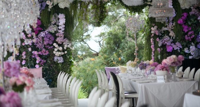 Philip Carr party planner throw Sydney flowers