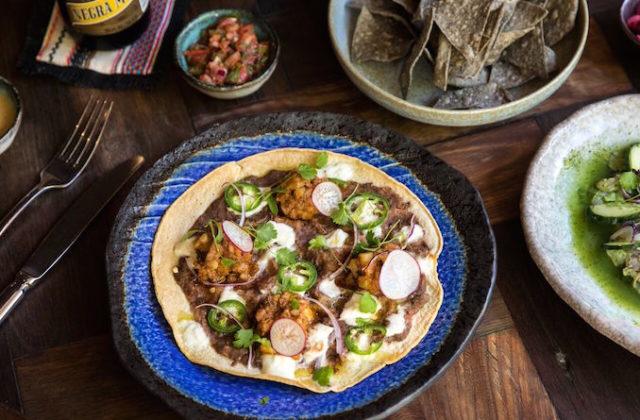 Chorizo Tlayuda Chula Potts Point