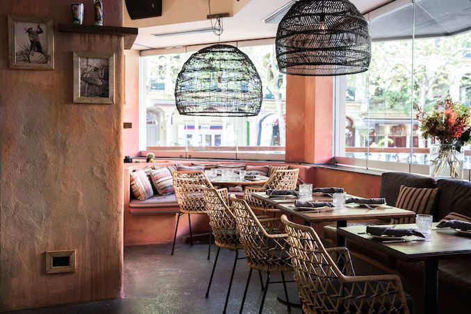 Chula Mexican restaurant Potts Point Sydney THE F dining room