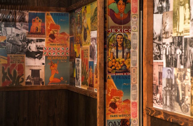 Chula Mexican restaurant Potts Point Sydney THE F posters wall