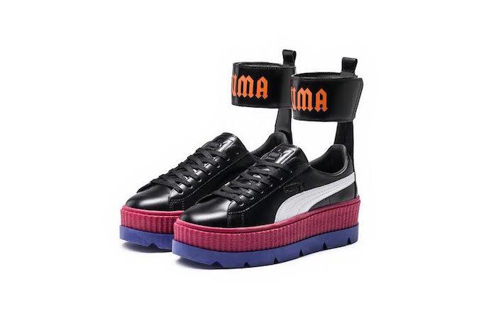 Fenty Puma Rihanna strap colour platforms