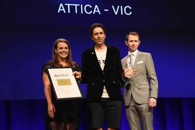 Good Food Guide Awards Attica