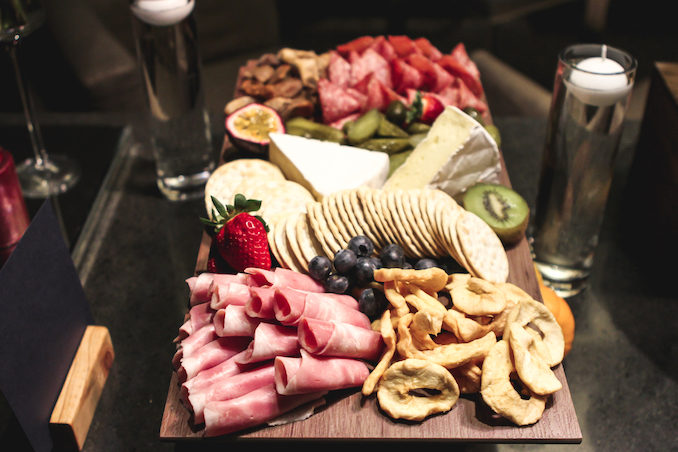 Intercontinental Hotel Sydney Supper Club THE F charcuterie