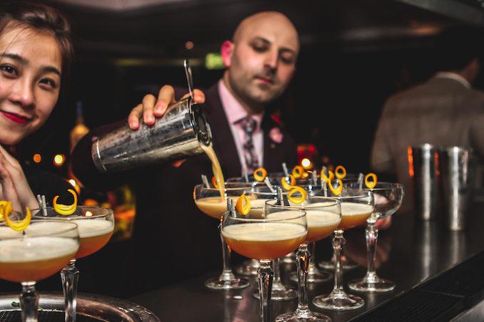 Intercontinental Hotel Sydney Supper Club THE F cocktail martini