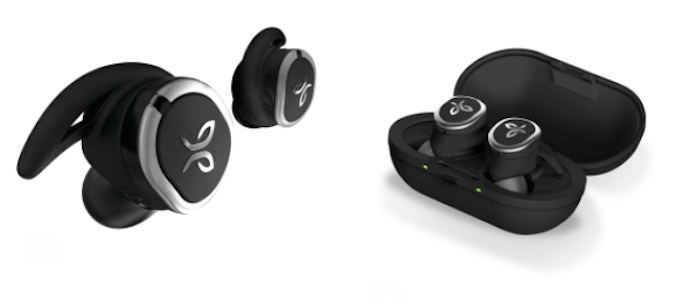 Jaybird RUN True Wireless Sport Headphones THE F case