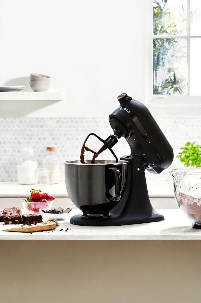 Kitchen Aid black tie mixer