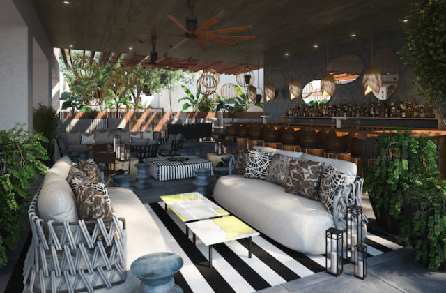 La Peer Hotel West Hollywood THE F Bar