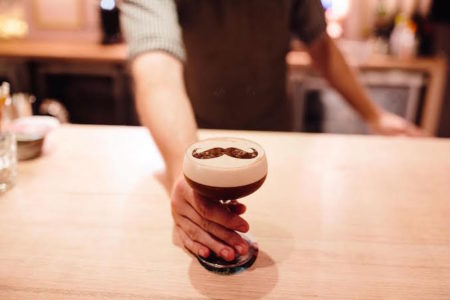 Moustache espresso martini