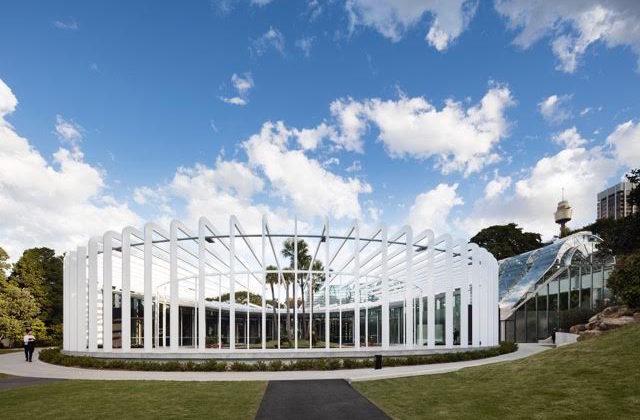 Sydney Calyx Royal botanic Gardens exterior